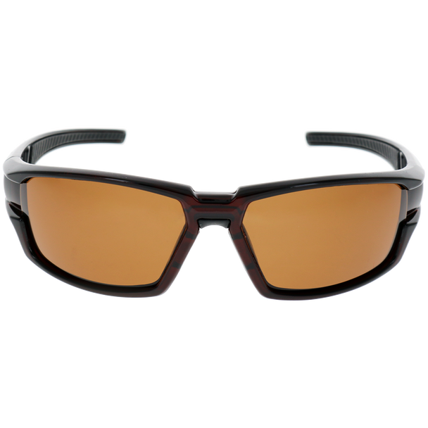 Brown Frame Black Rubber Brown Lens
