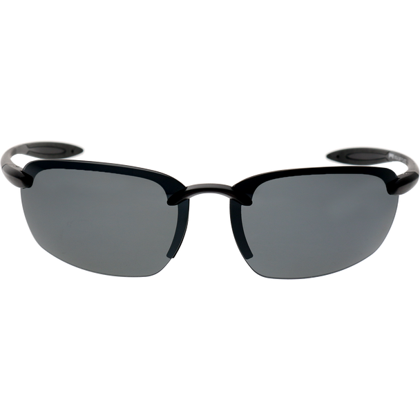 Crystal Gray Black Rubber Smoke Mirror Lens