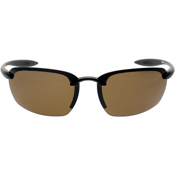Matte Black Dark Gray Rubber Brown Mirror Lens