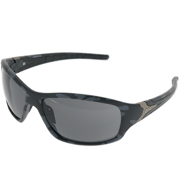 Black-Grey Abstract Camo frame Smoke lens