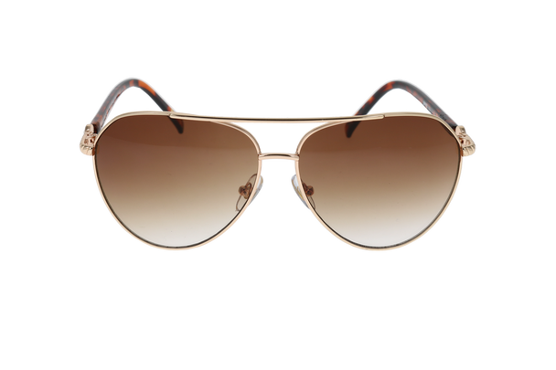 Shiny Gold, Brown Gradient lens