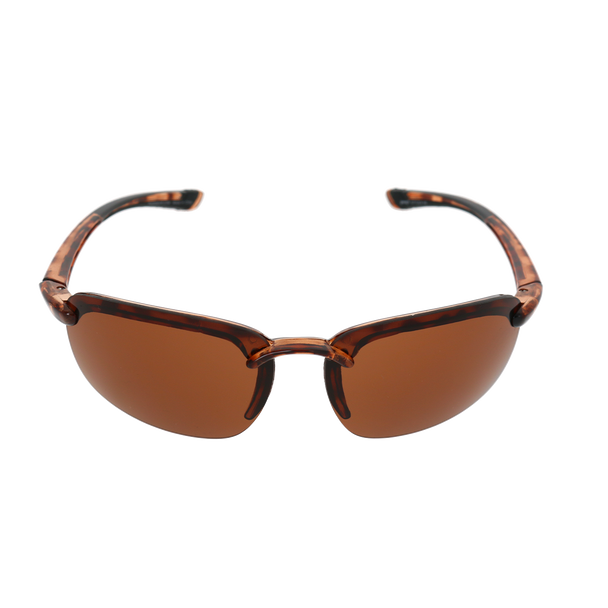Shiny Tortoise Frame Brown Lens