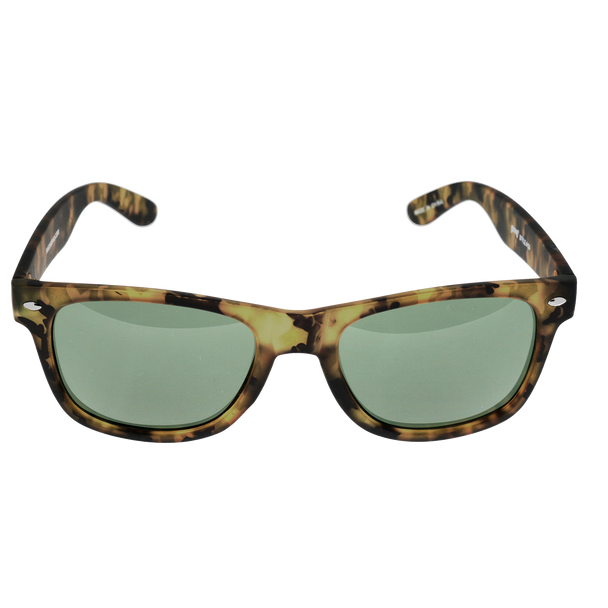 Green Camo Soft Touch Single Stud Frame, G15 (Green) Lens
