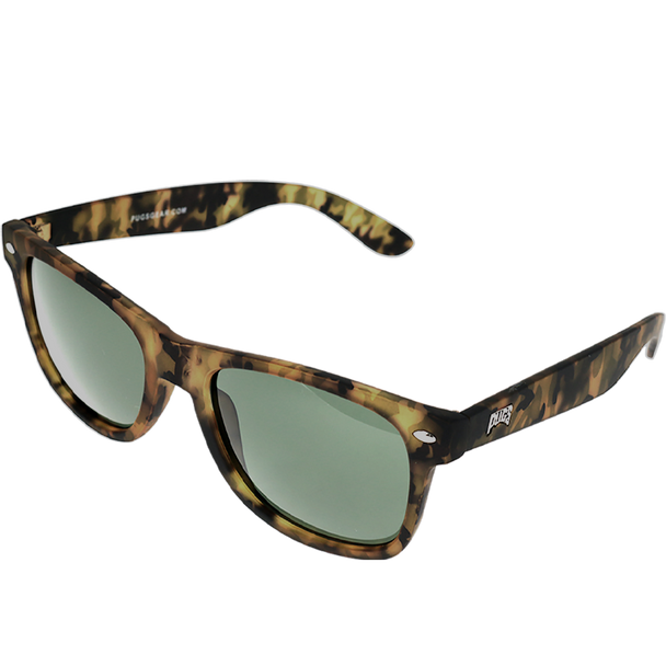 Green Camo Soft Touch Single Stud Frame, G15 (Green) Lens Angled