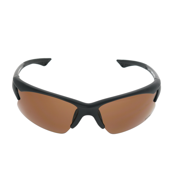 Matte Black frame Brown lens