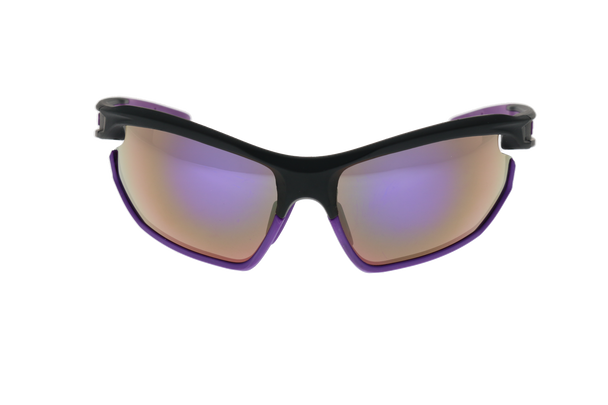 Matte Black/Purple, Purple Multi-Mirror lens