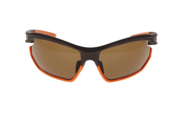 Matte Brown/Orange, Brown lens