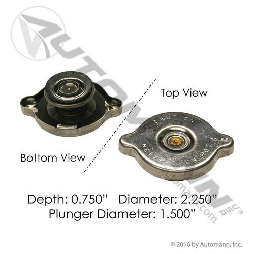 RADIATOR CAP 20 lb 1.5 in