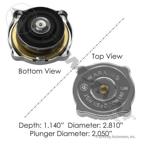 RADIATOR CAP 7LB 2.05