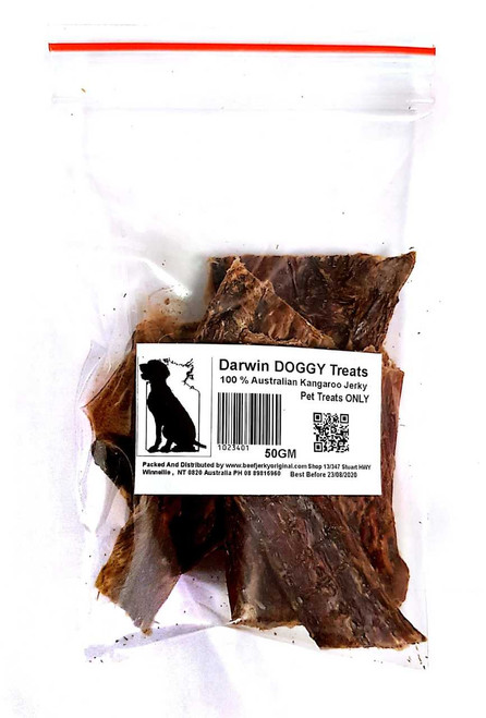 Darwin Doggy Kangaroo Jerky for Pets
