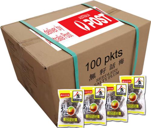 100pk seedless salty plum