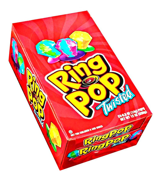 Twisted Ring Pops