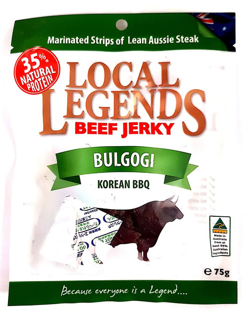Local Legends Bulgogi Beef Jerky