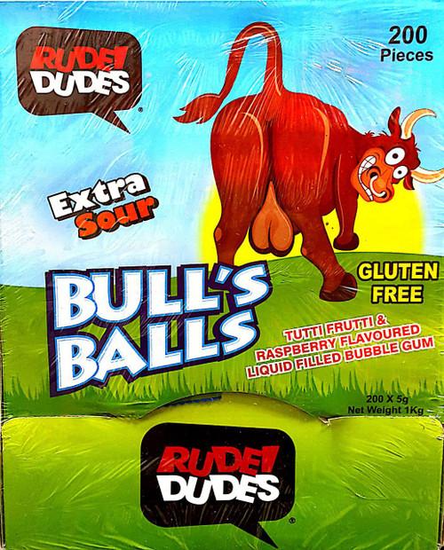 Bulls balls Lollies