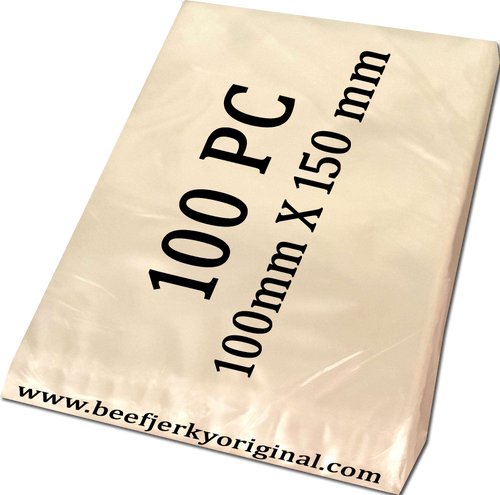 100mm X 150mm 100pk plastic bags the pack