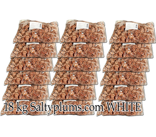 18 kg  white salty plums bus delivery