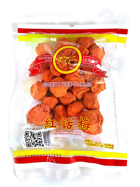 sweet plum 100g gold fish brand