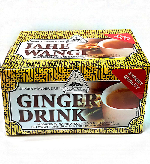360g ginger tea in 20 x 18g satchels