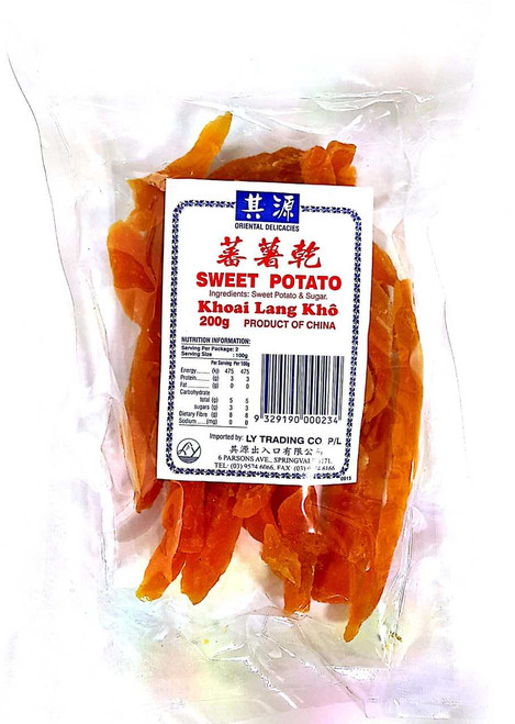 Sweet Potato Preserved 200g