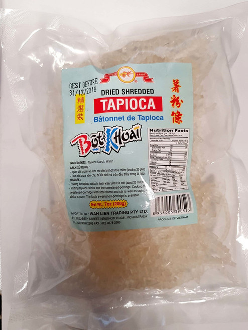Dried Shredded Tapioca 200g