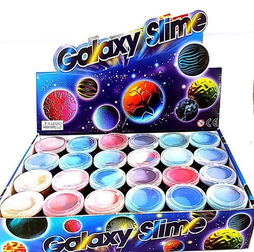 Galaxy Theme Slime 65g 24pk carton