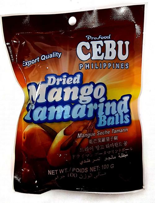 Dried Mango Tamarind Balls 100g