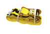 ANCRA-Cargo Rachet Strap with Flat Hook. (ID: 45982-11) Image may not reflect actual part: