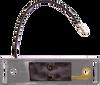 OPTRONICS / Kit: Gray bracket & A65P single wire plug, .156 male bullet / A66PB