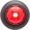 "OPTRONICS / Red 3/4"" LED non-directional marker/clearance light with A11GB grommet  / MCL10RKB"