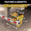 The Retrac Highrise™ Rear Entry Trailer Step Assist