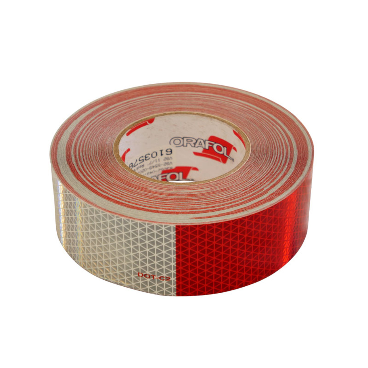 REFV92-5549-020150BX /  7IN WH/11IN RED TAPE 150FT ROLL/ ORALITE