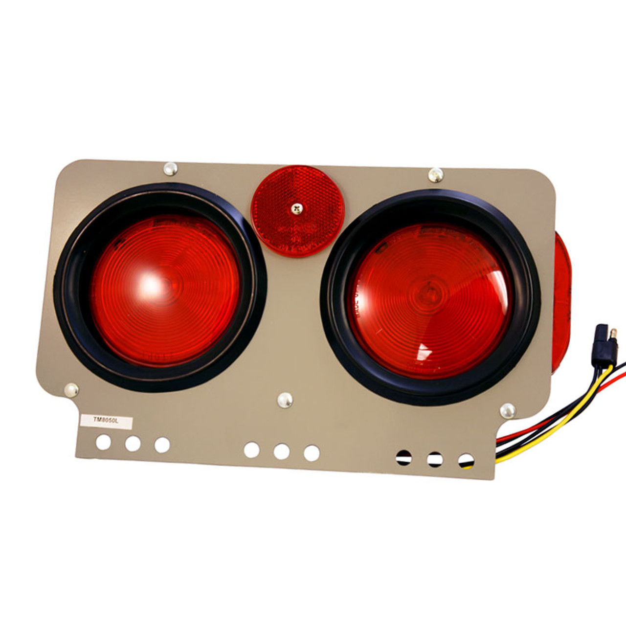 TRUCK LITE / 40 SERIES, INCANDESCENT, M/C & S/T/T LIGHT MODULE W/ SIDE MARKER, LEFT HAND SIDE / 40756