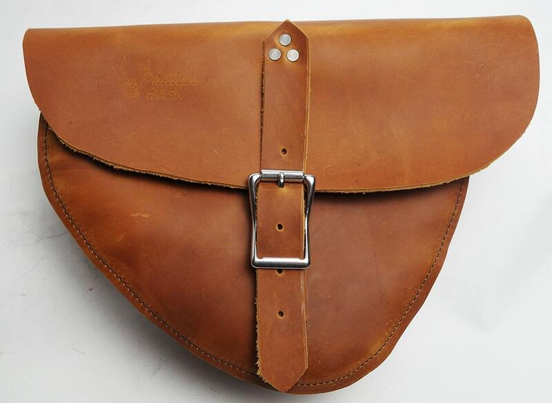 A brown Sportster Stash Bag