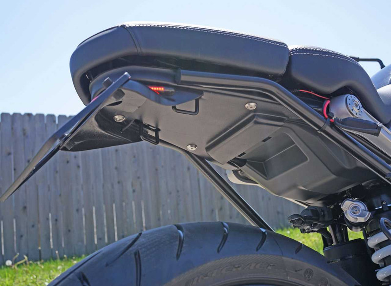 BMW R nine T Fender under the tail