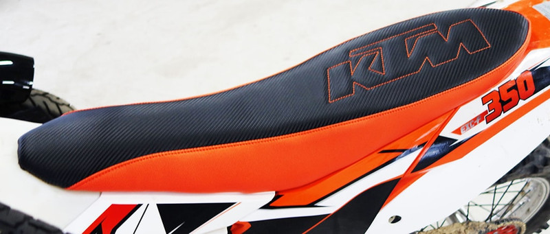 KTM Seat upgrade made by Rich Phillips Cycles
