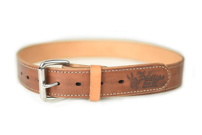Herman Oak Leather Belt