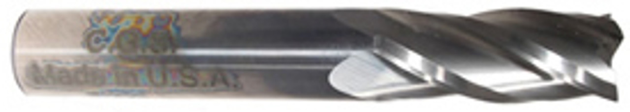 "3//4/"" LOC 4 Flute Single End AlTiN Carbide End Mill USA #57882 17//64/"" Diameter"