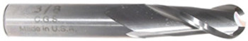 2 flute solid carbide Ball end mills are ideal for rough and finish milling in a large range of materials. These end mills can be used in slotting, profile, plunge and side wall milling. Designed with an industry standard 30° degree helix and precision cutting edges these end mills will perform above the competition.