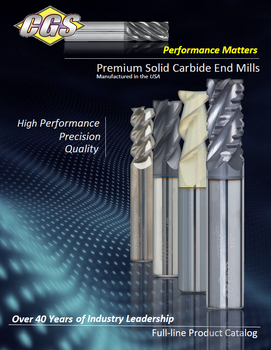 CGS Product Catalog - CGS Tool | End Mills | Solid Carbide Cutting Tools