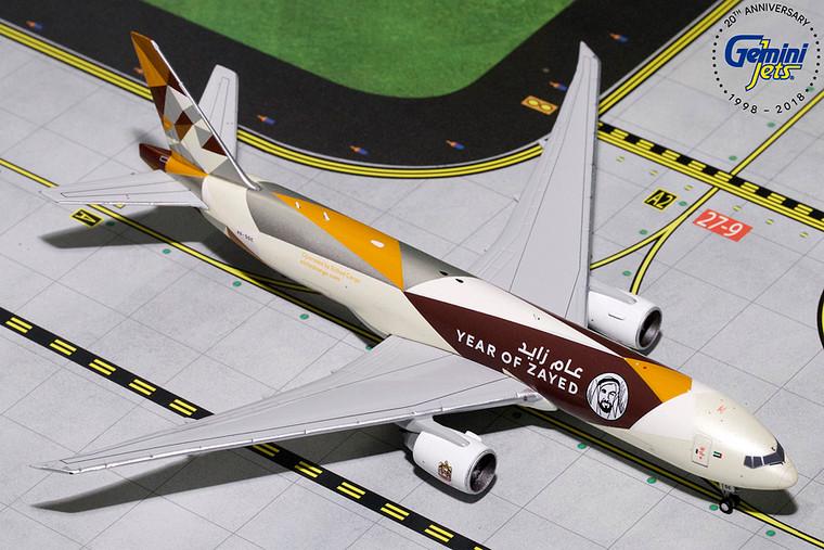 ETIHAD CARGO B777F (Sheik Zayed) A6-DDE GJETD1812 1:400