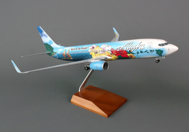SKYMARKS ALASKA 737-800 SPIRIT OF THE ISLANDS SKR8243 1:100