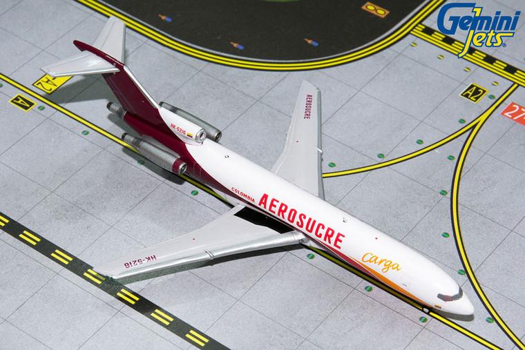 AEROSUCRE B727-200F HK-5216 GJKRE1194 1:400