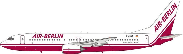 Jfox Air Berlin Boeing 737-86J D-ABAT JF-737-8-007 1:200