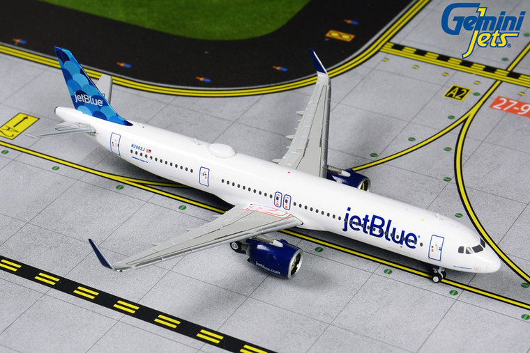Gemini Jets JetBlue A321neo N2002J GJJBU1881 1:400