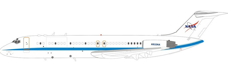 Inflight200 NASA McDonnell Douglas DC-9-33F N932NA IF932NASA01 1:200