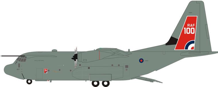Inflight200 UK - Air Force Lockheed Martin C-130J Hercules C5 (L-382) ZH887 IF130UK0420 1:200