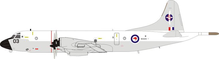 Inflight200 New Zealand - Air Force Lockheed P-3K Orion NZ4203 IFP3RNZAF12 1:200