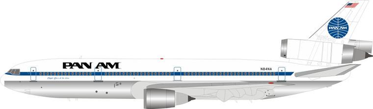 Pan Am McDonnell Douglas DC-10-30 N84NA Polished  IFDC10PA1019P 1:200