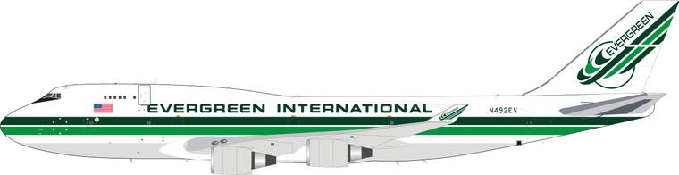 Evergreen International Airlines Boeing 747-400 N492EV  IF744EZ0519 1:200