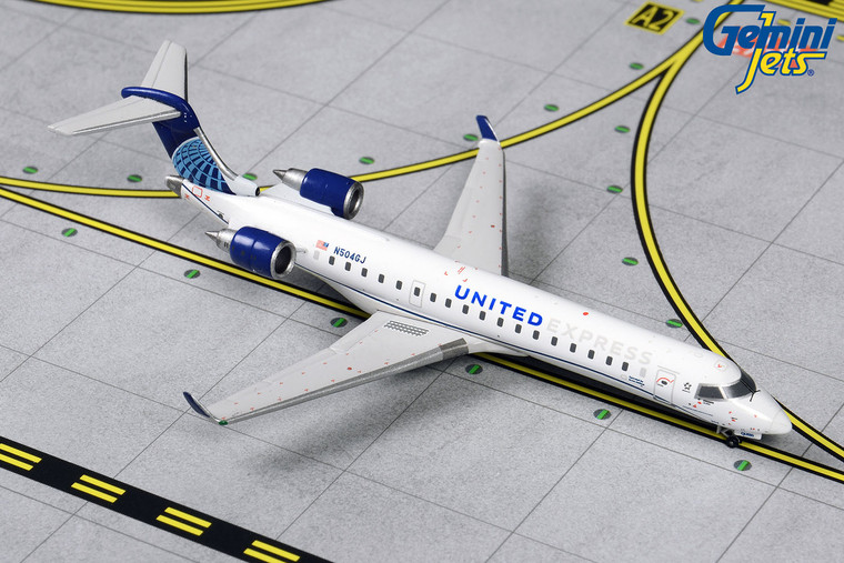 Gemini Jets United Express CRJ-550 N504GJ GJUAL1900 1:400